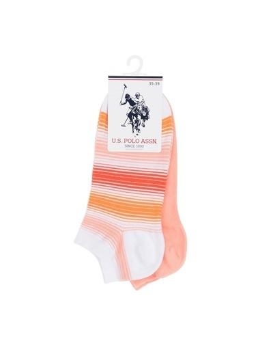U.S.Polo Assn. 2'li Çorap Oranj
